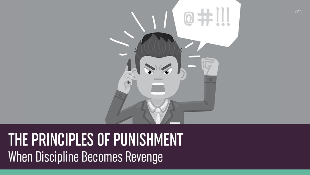 The Principles of Punishment