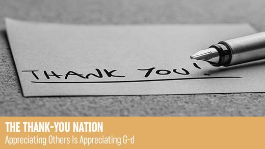 The Thank-You Nation