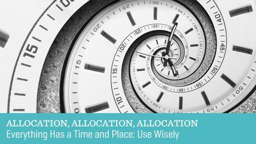 Allocation, Allocation, Allocation