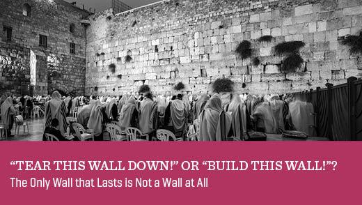 """Tear This Wall Down!"" or ""Build This Wall!""?"