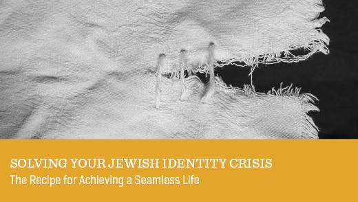 Solving Your Jewish Identity Crisis
