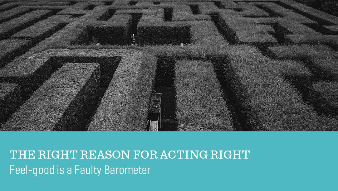 The Right Reason for Acting Right